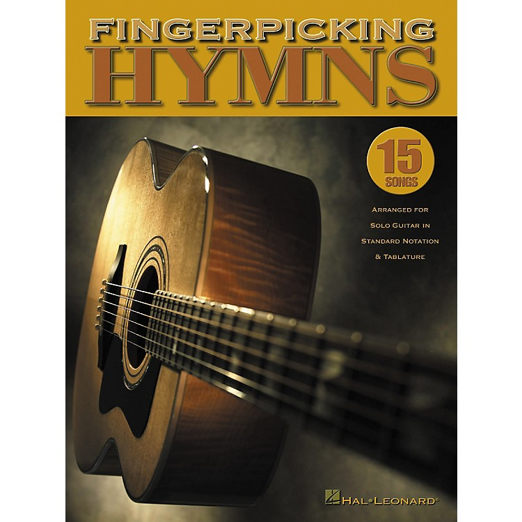 Hal LeonardFingerpicking Hymns Guitar Tab Songbook