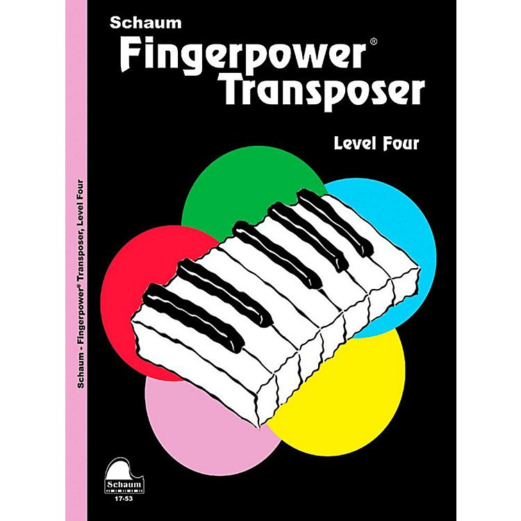 AlfredFingerpower Transposer, Level Four - Intermediate