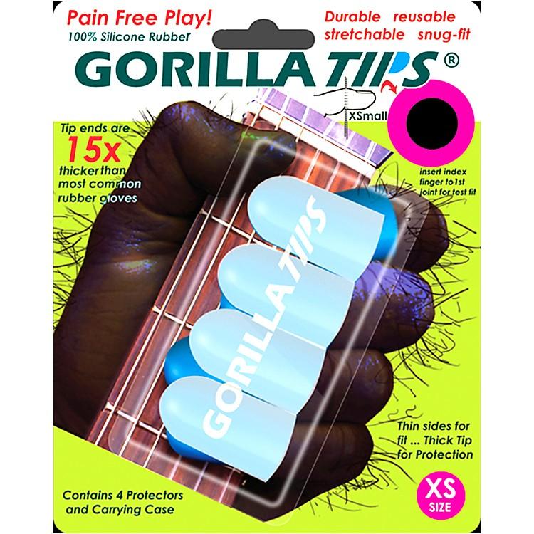Gorilla TipsFingertip ProtectorsClearExtra Small