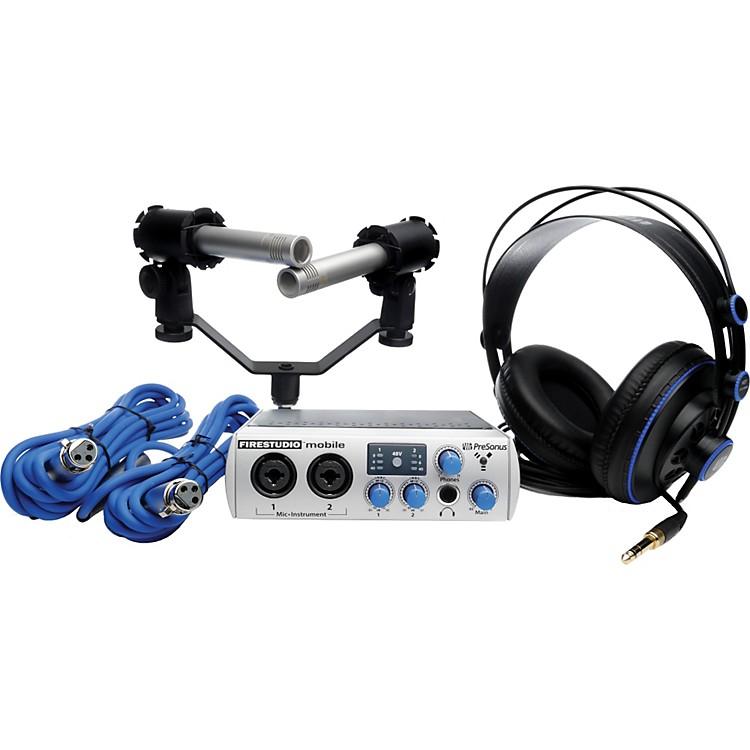 PreSonusFireStudio Mobile Recording Bundle