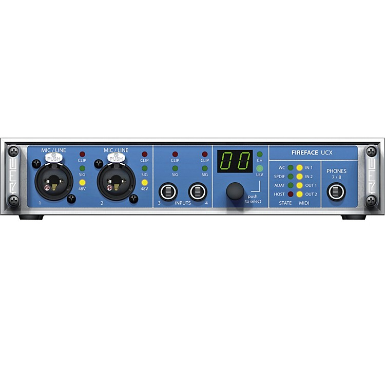 RMEFireface UCX 36-Channel USB 2.0 Audio Interface