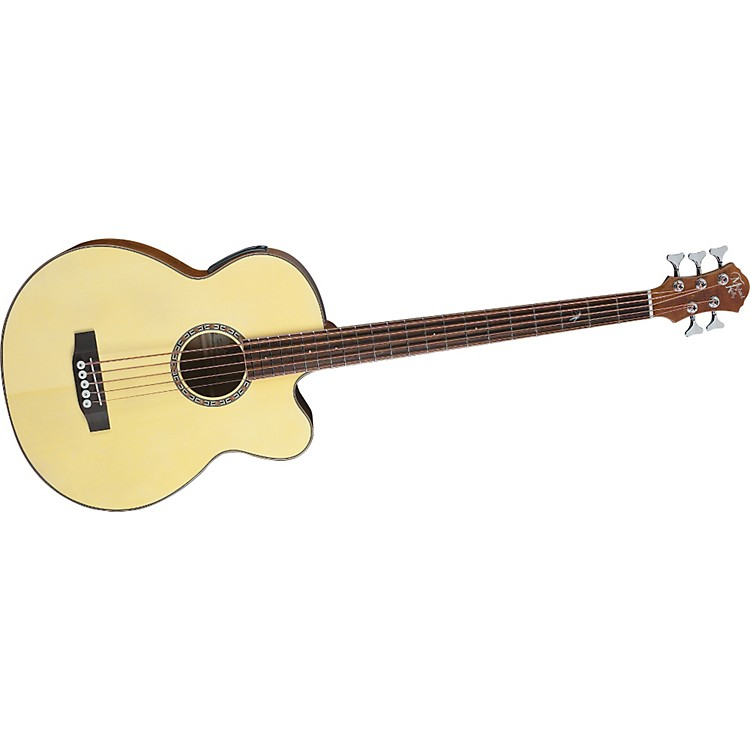 Michael Kelly Firefly 5-String Acoustic-Electric Bass Natural