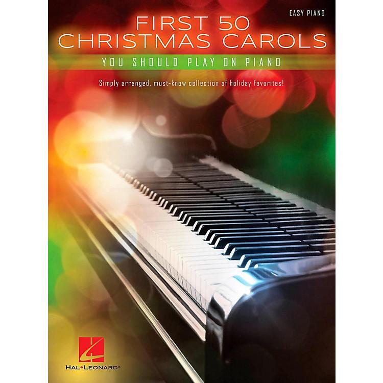 Hal LeonardFirst 50 Christmas Carols You Should Play On Piano