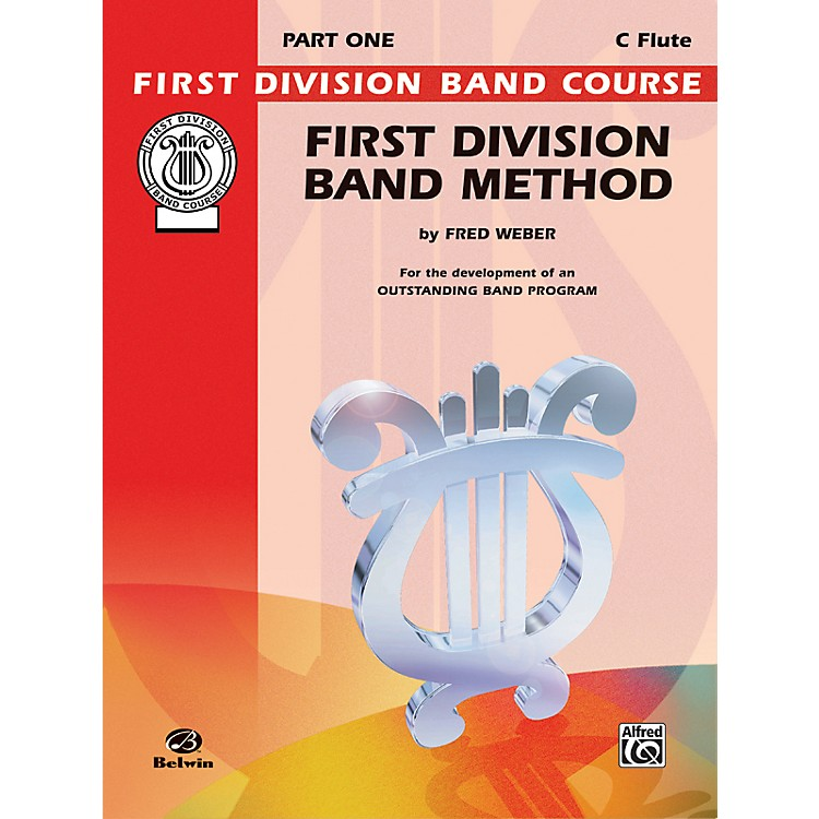 AlfredFirst Division Band Method Part 1 C Flute