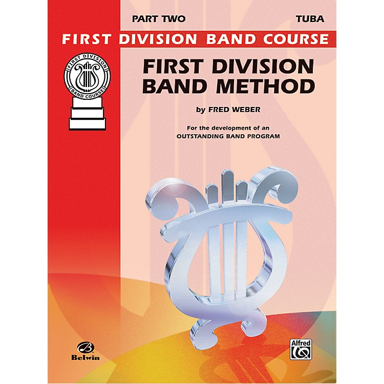 AlfredFirst Division Band Method Part 2 Bass (Tuba)