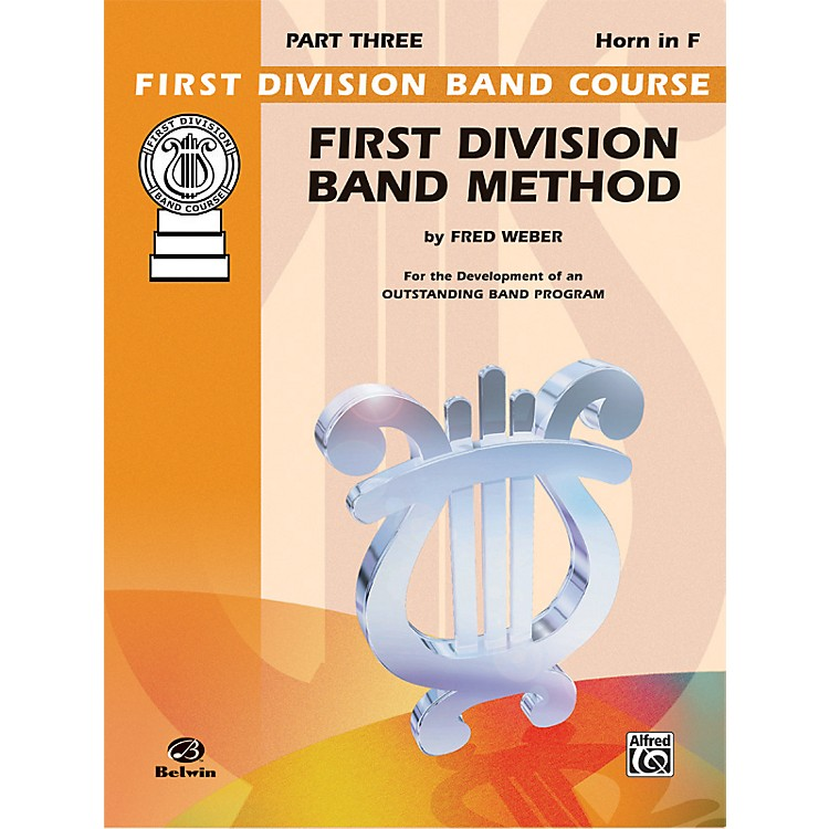 AlfredFirst Division Band Method Part 3 Horn in F