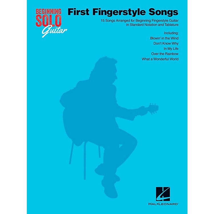 Hal LeonardFirst Fingerstyle Songs - Beginning Solo Guitar