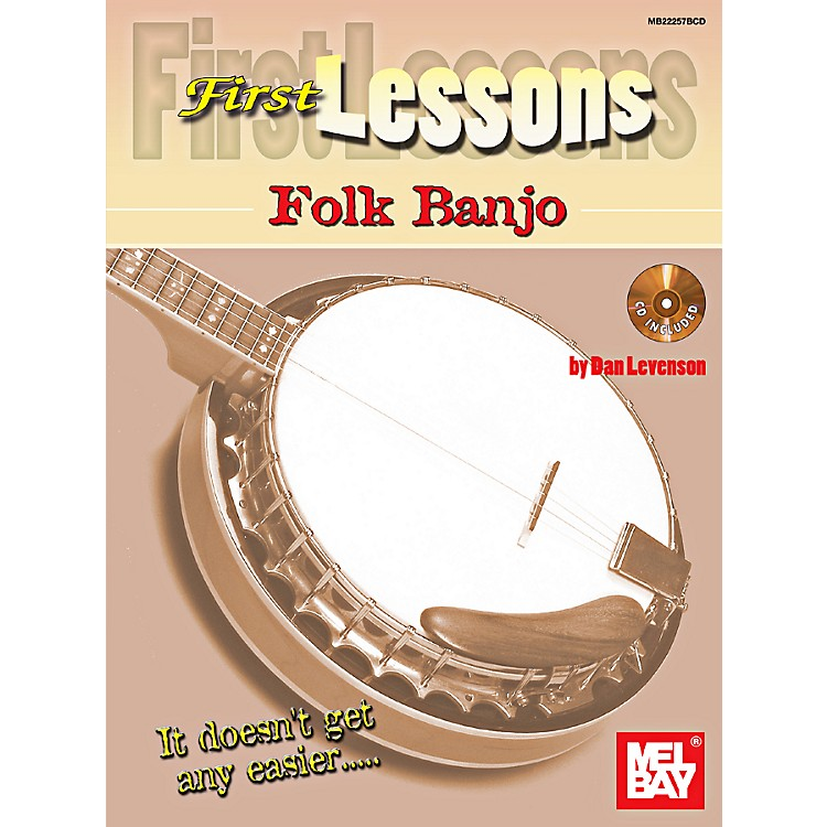 Mel Bay First Lessons Folk Banjo