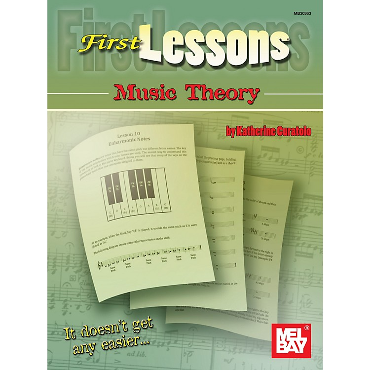 Mel Bay First Lessons Music Theory