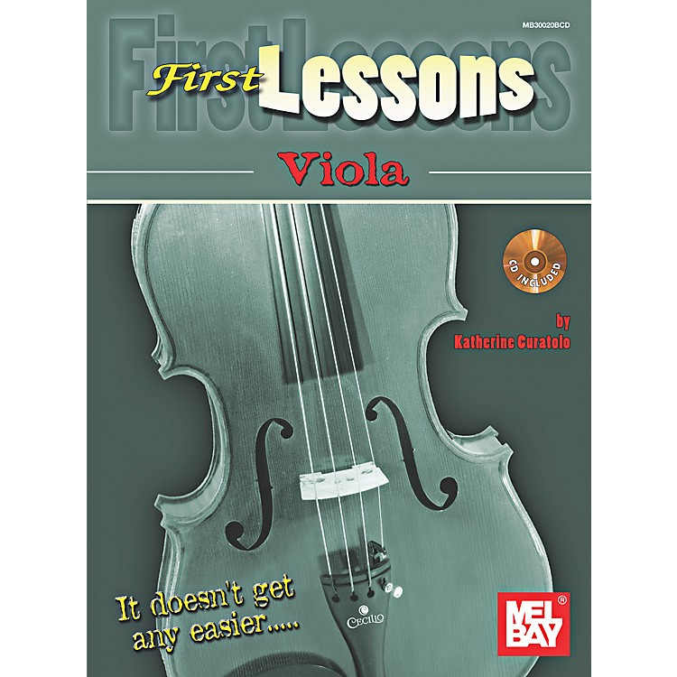Mel Bay First Lessons Viola
