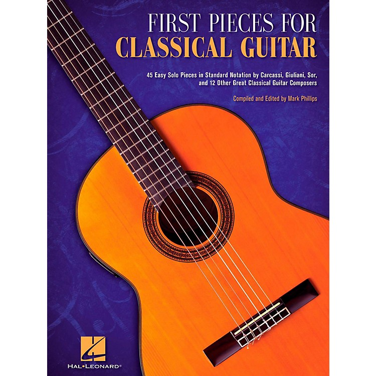 Hal LeonardFirst Pieces For Classical Guitar (No Tab)