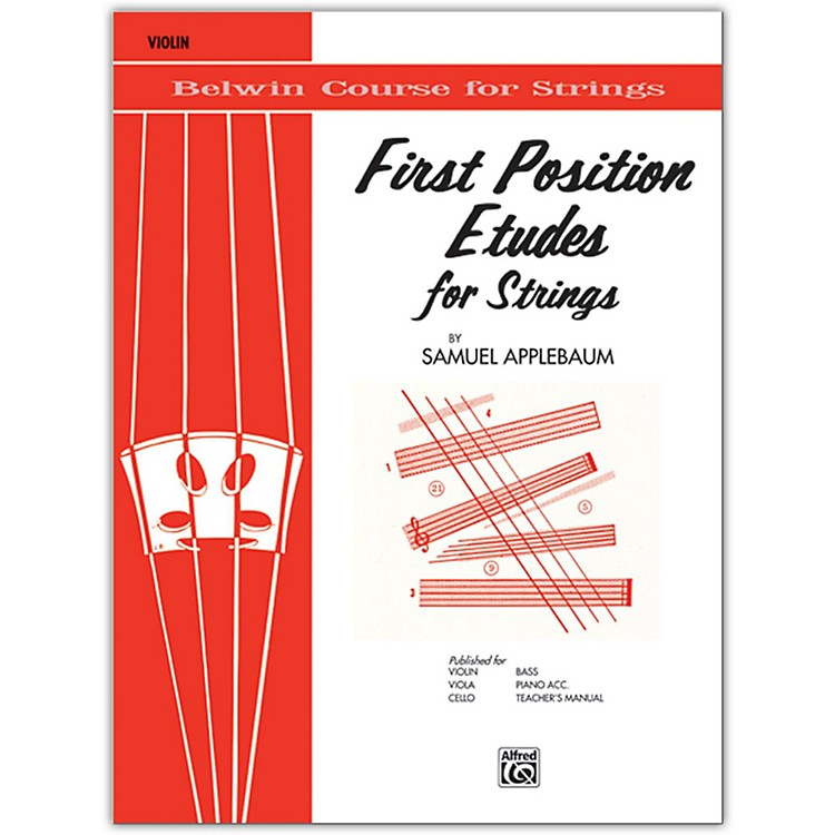 BELWINFirst Position Etudes for Strings Violin