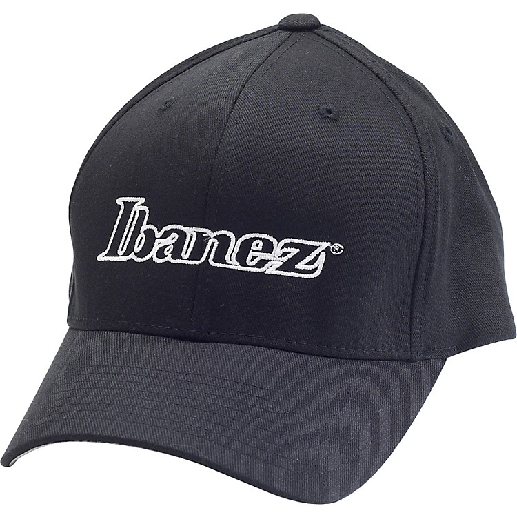 Ibanez Fitted Baseball Cap Black Small/Medium