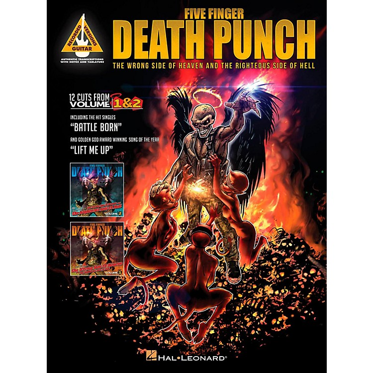 Hal LeonardFive Finger Death Punch - The Wrong Side of Heaven and the Righteous Side of Hell
