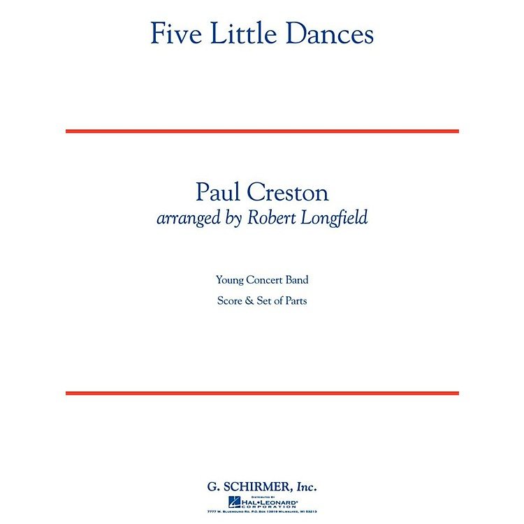 Hal Leonard Five Little Dances - Concert Band Level 3