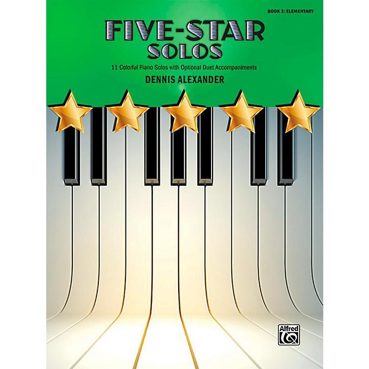 AlfredFive-Star Solos, Book 2 - Elementary