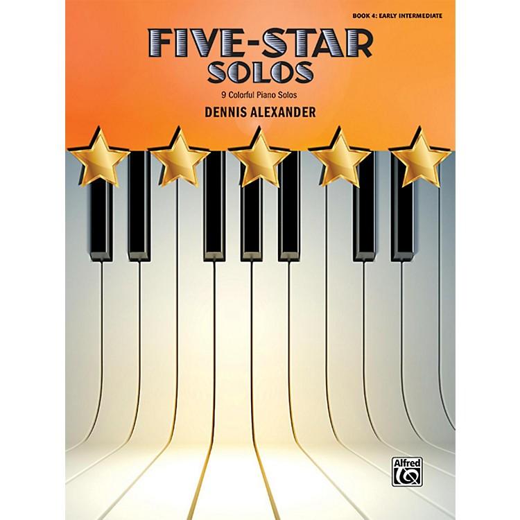 AlfredFive-Star Solos, Book 4 Early Intermediate
