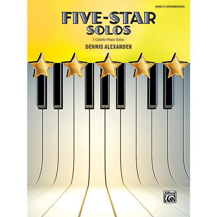 Alfred Five-Star Solos, Book 5 Intermediate