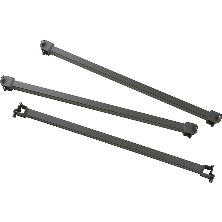 Adams Fixed Crossbars Set of 3