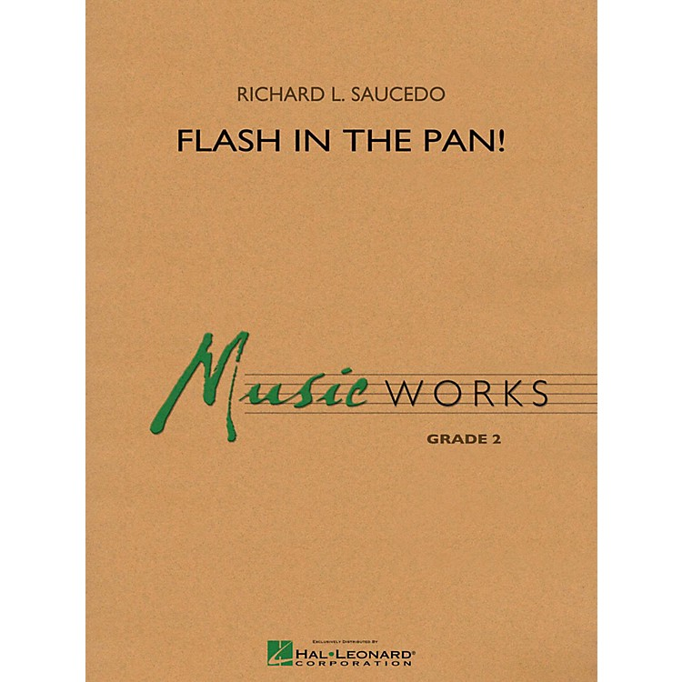 Hal LeonardFlash in the Pan! - MusicWorks Grade 2 Concert Band