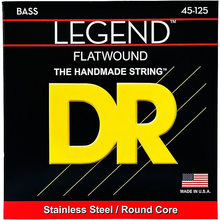 DR StringsFlatwound Legend 5-String Bass Medium