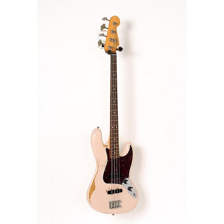 Fender Flea Signature Roadworn Jazz Bass Shell Pink 888365916095