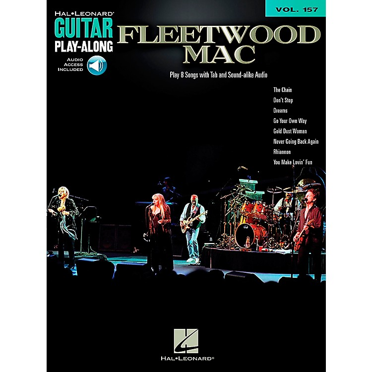 Hal LeonardFleetwood Mac - Guitar Play-Along Book/CD Vol. 157