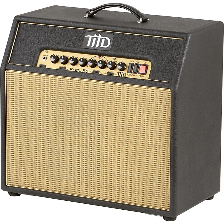 THD Flexi-50 50W 1x12 Tube Guitar Combo Amp Black