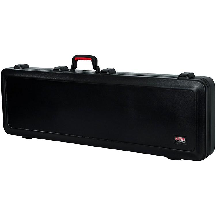 GatorFlight Pro TSA Series ATA Molded Bass Guitar CaseBlackRed