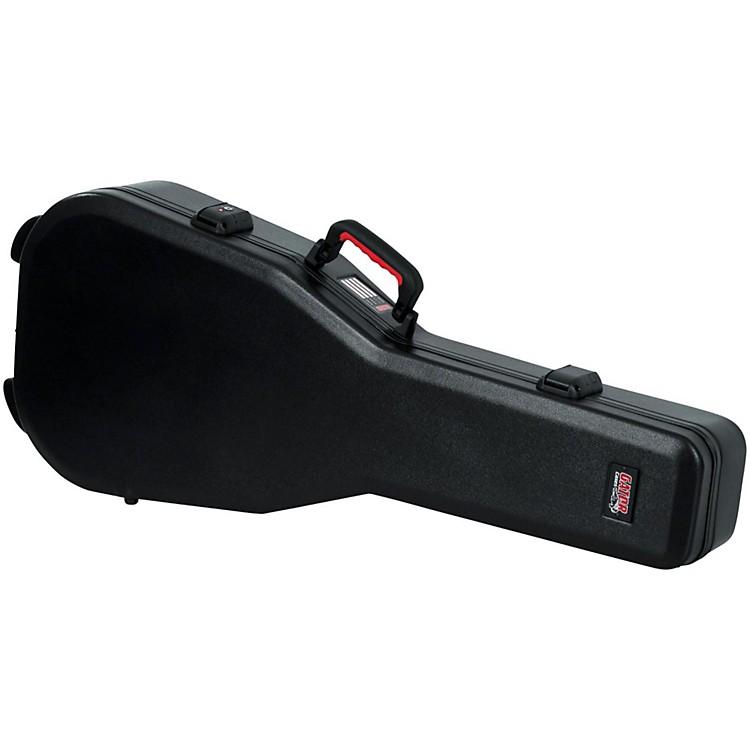 GatorFlight Pro TSA Series ATA Molded Classical Guitar CaseBlackRed