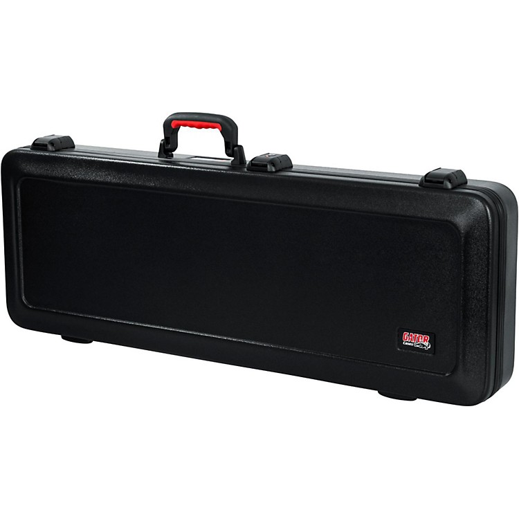 Gator Flight Pro TSA Series ATA Molded Electric Guitar Case Black Red