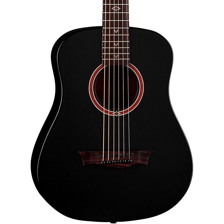 DeanFlight Series Travel Acoustic GuitarSatin Black