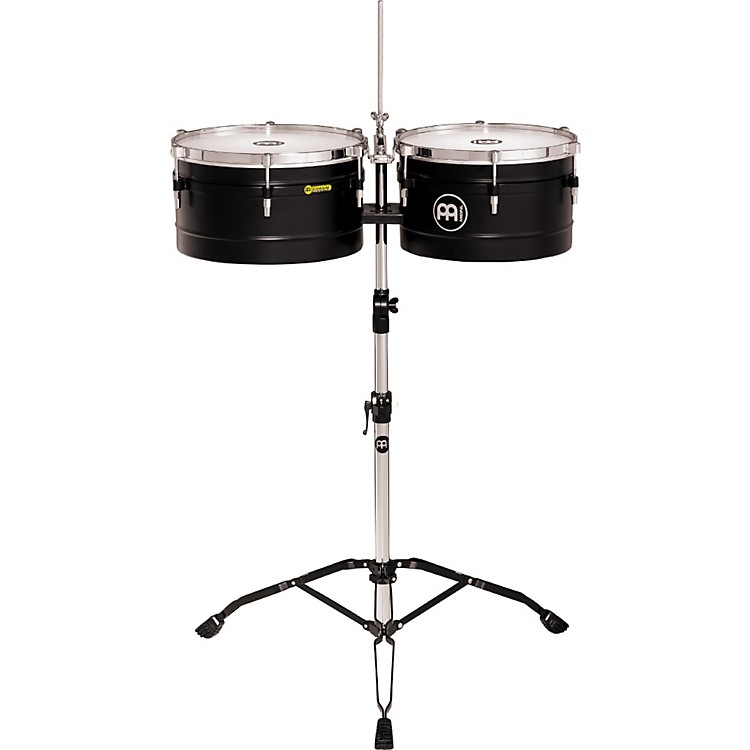 Meinl Floatune Steel Timbales Black