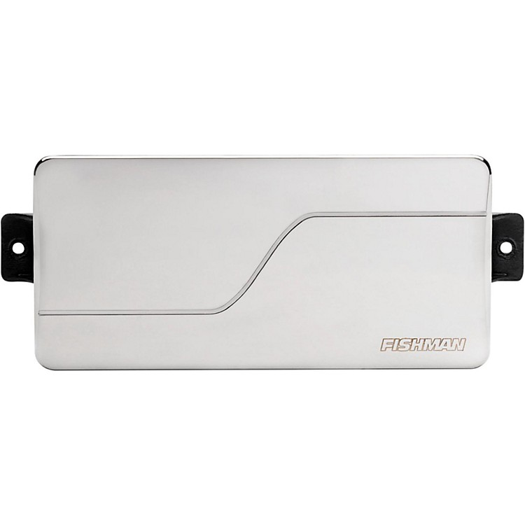 Fishman Fluence Modern Alnico Humbucker 7-String Neck Guitar Pickup Brushed Stainless Steel