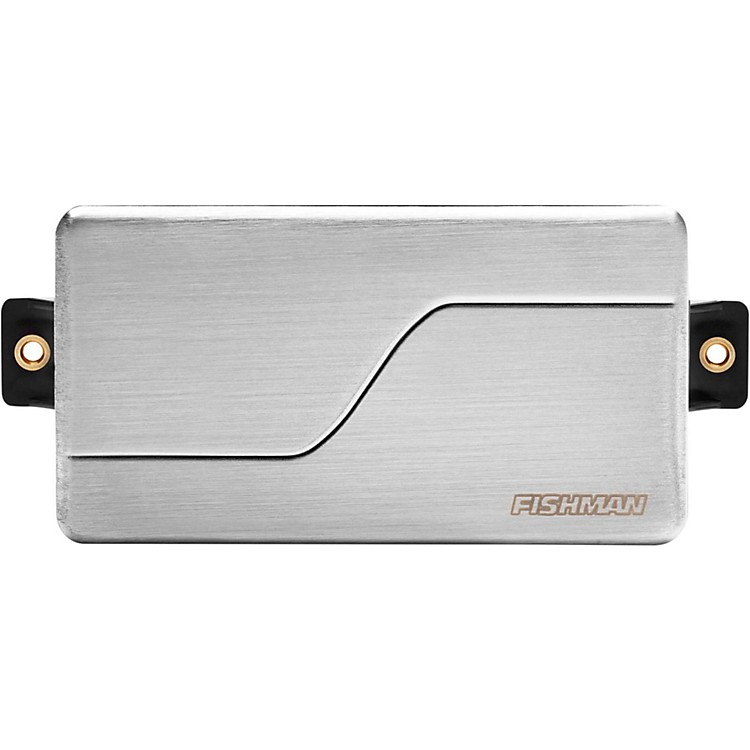 Fishman Fluence Modern Ceramic Humbucker Bridge Guitar Pickup Brushed Stainless Steel
