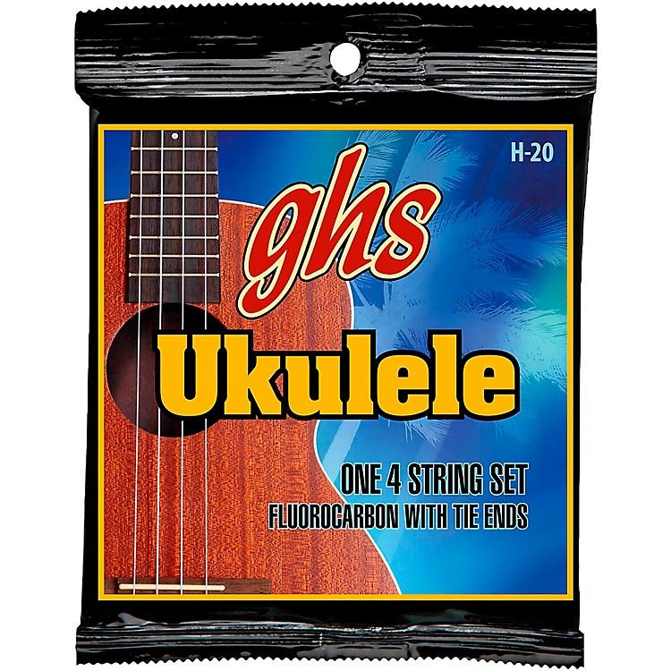 GHSFluorocarbon Soprano/Concert Ukulele Strings