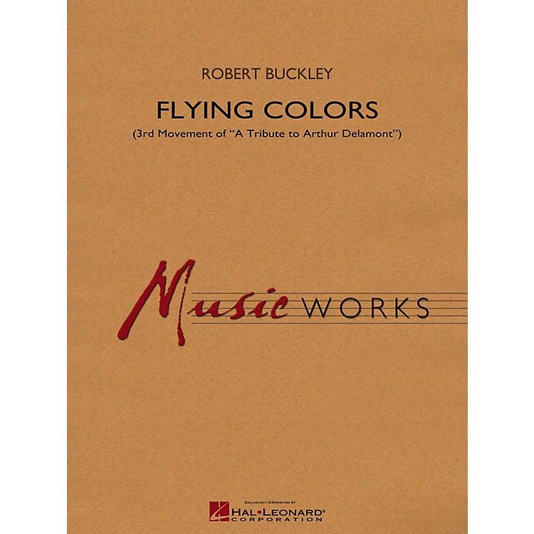 Hal LeonardFlying Colors (3rd Mvt Of  A Tribute To Arthur Delamont) Concert Band Level 4