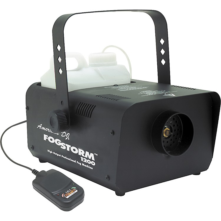 American DJ Fog Storm 1200HD Fog Machine with Remote