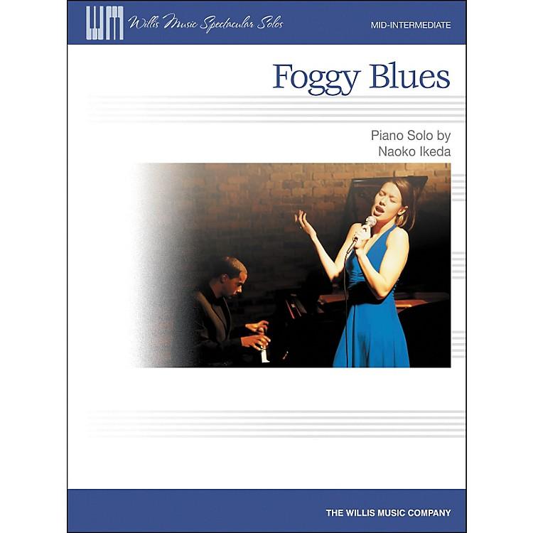 Willis MusicFoggy Blues - Mid-Intermediate Piano Solo by Naoko Ikeda