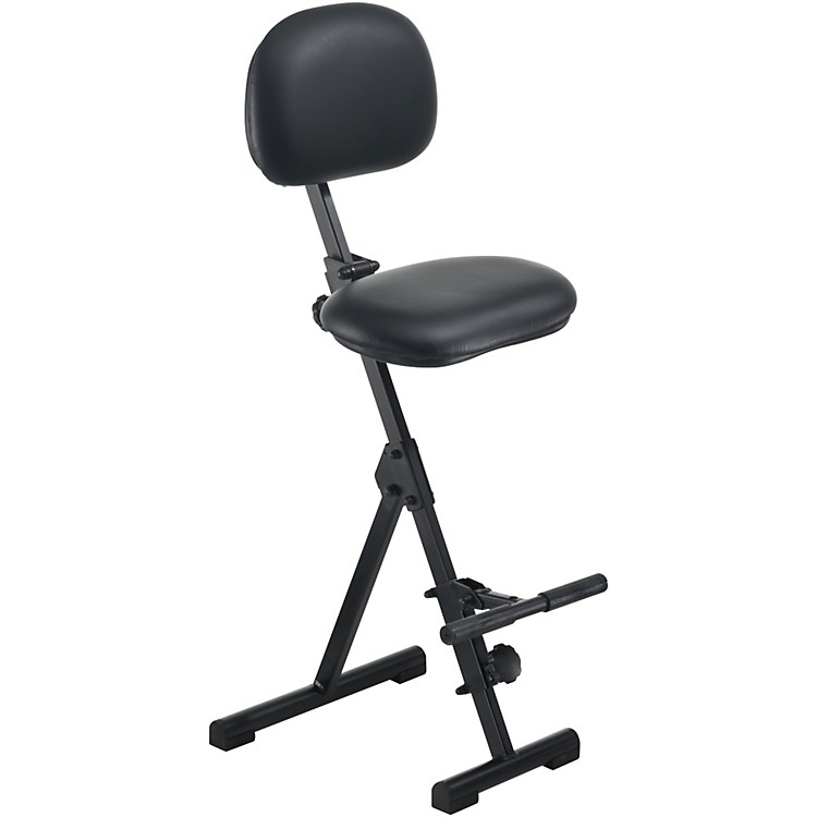 Mey America Fold Up Seat for Stage or Studio Black