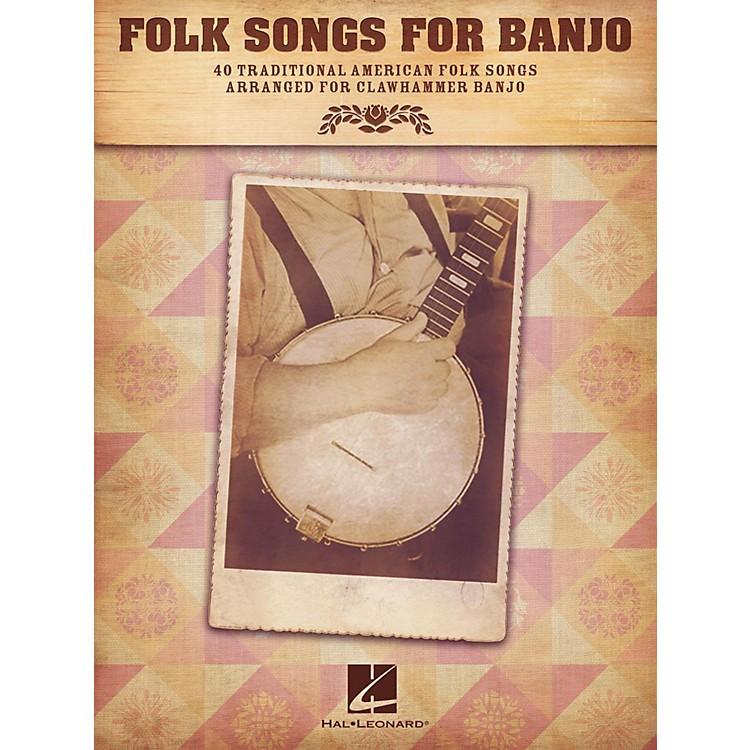 Hal LeonardFolk Songs For Banjo