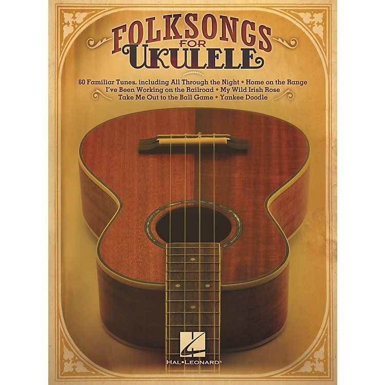 Hal Leonard Folksongs For Ukulele
