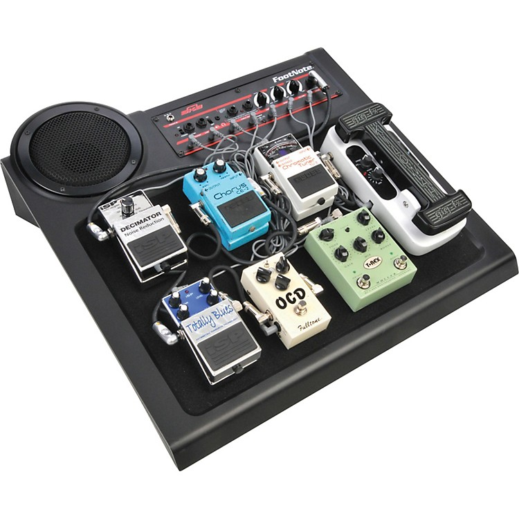 SKB FootNote Amplified Pedal Board
