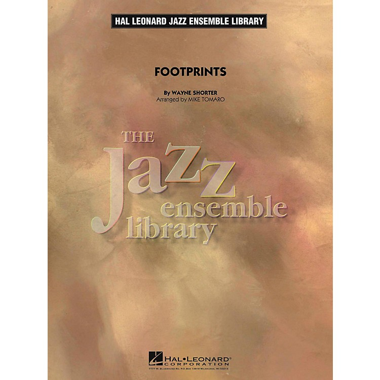 Hal LeonardFootprints Jazz Band Level 4