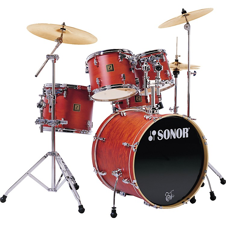 Drum Set Outline 5 Piece Drum Set