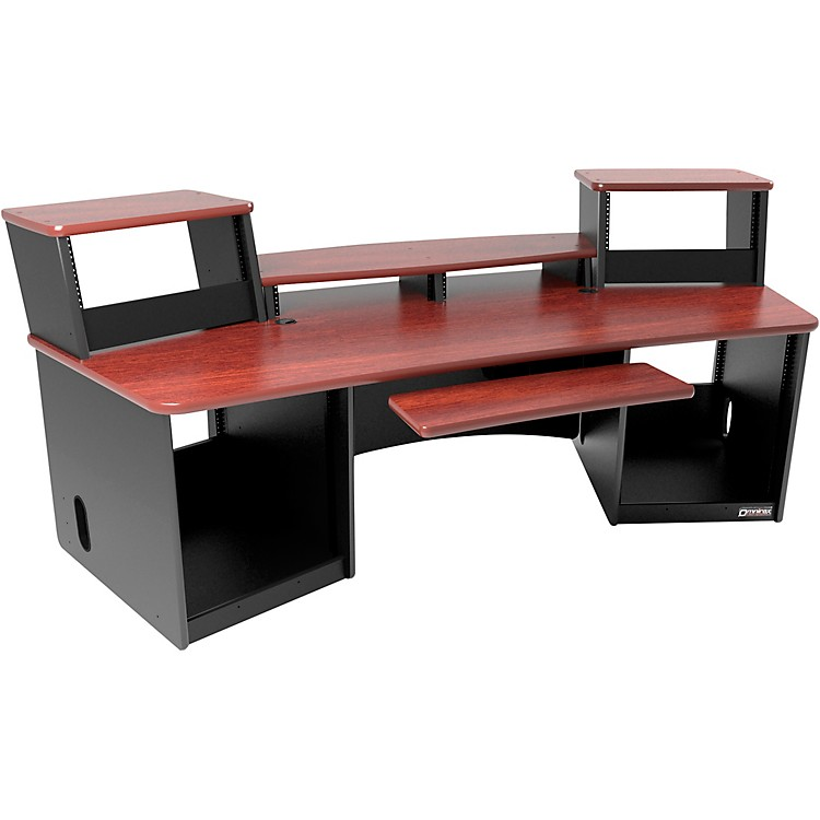Omnirax Force 36 Workstation Mahogany