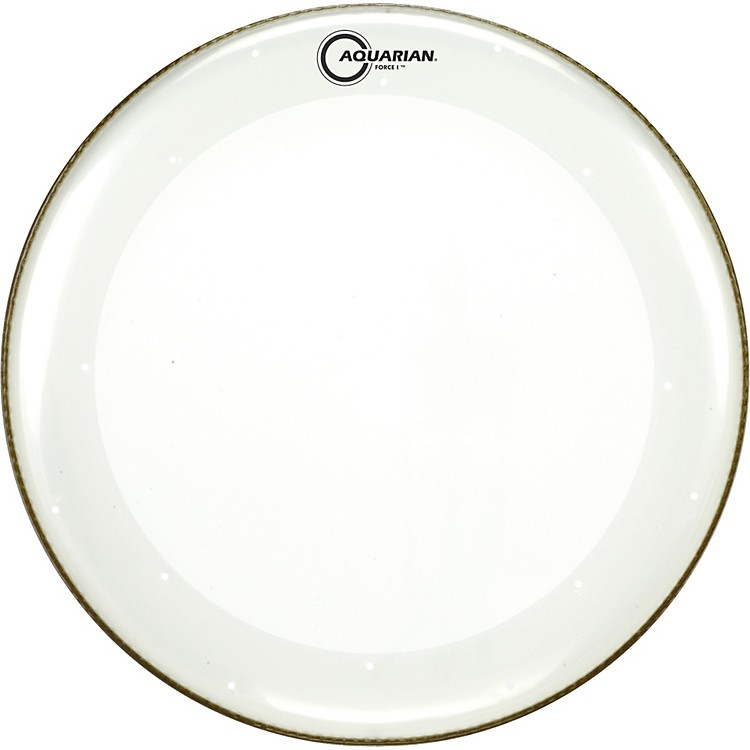 Aquarian Force I Bass Drum Batter Head Clear 24 in.