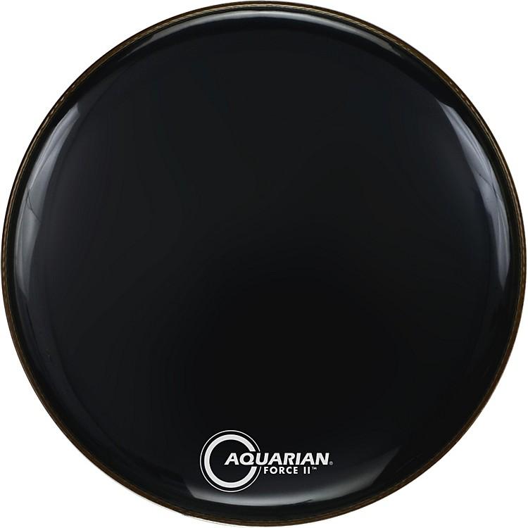 AquarianForce II Resonant Bass Drum HeadBlack20 in.