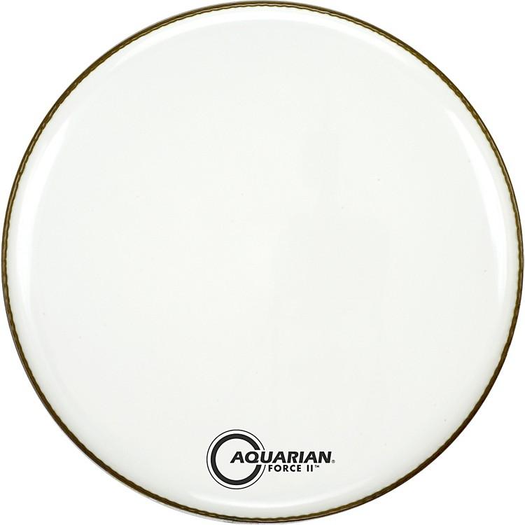 AquarianForce II Resonant Bass Drum HeadWhite24 in.