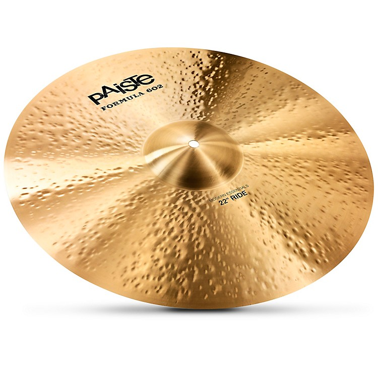 Paiste Formula 602 Modern Essentials Ride 22 Inch